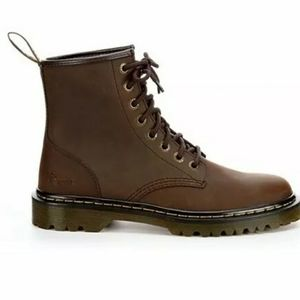 Dr. Doc Martens Boots Motorcycle Sz10 & 11 Brown